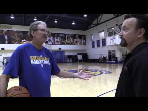 Warriors TV Analyst Jim Barnett Shows His Wicked Crossover