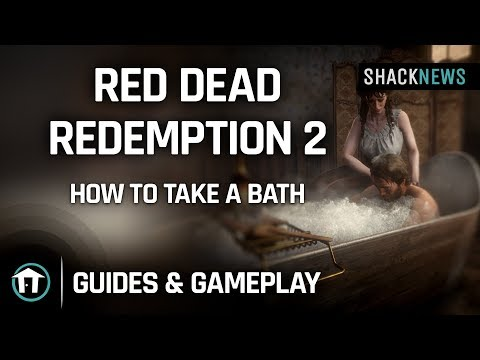 Red Dead Redemption 2   How to Take a Bath