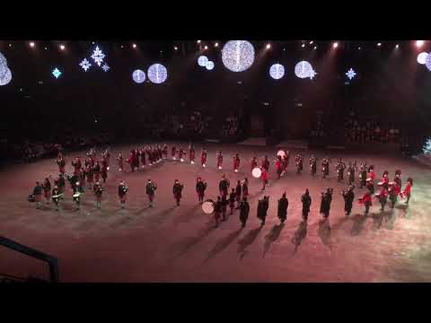 Basel Christmas Tattoo Pipes and Drums 2018