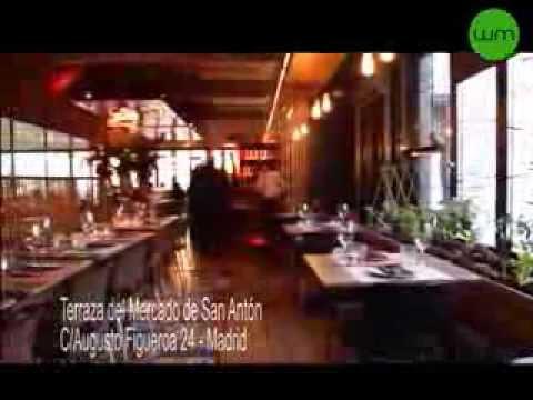Madrid Al Minuto La Terraza Del Mercado De San Antón