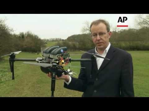 Fuel cell technology boosts drone flight
