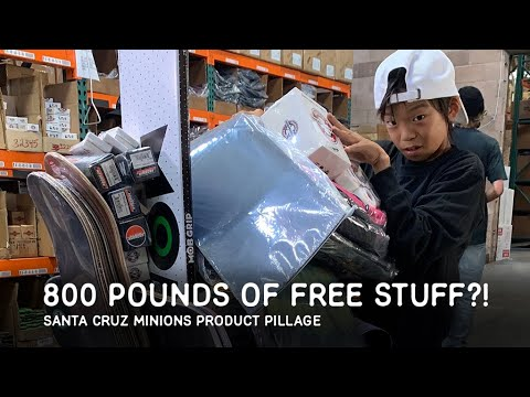800 POUNDS of PRODUCT PILLAGE FREE STUFF?! SC Minions Pillage Extended Version