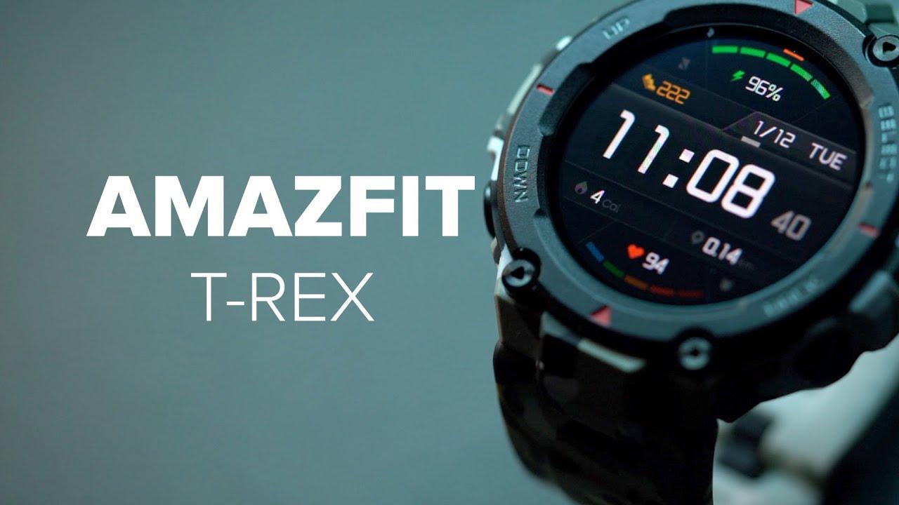 Amazfit T-Rex im Test: Smarte Outdoor-Uhr für 100 Euro | [deutsch]