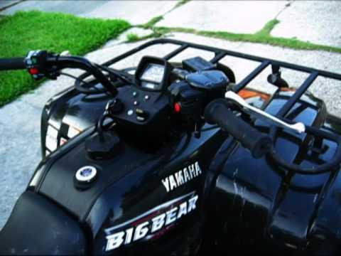 2009 Yamaha Big Bear 400 4x4 Youtube