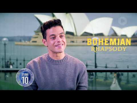 Rami Malek On Embodying Freddie Mercury In \'Bohemian Rhapsody\' | Studio 10