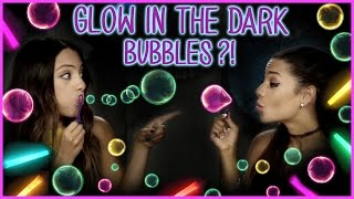 DIY Glow In The Dark Bubbles?! | Niki and Gabi DIY or DI-Don