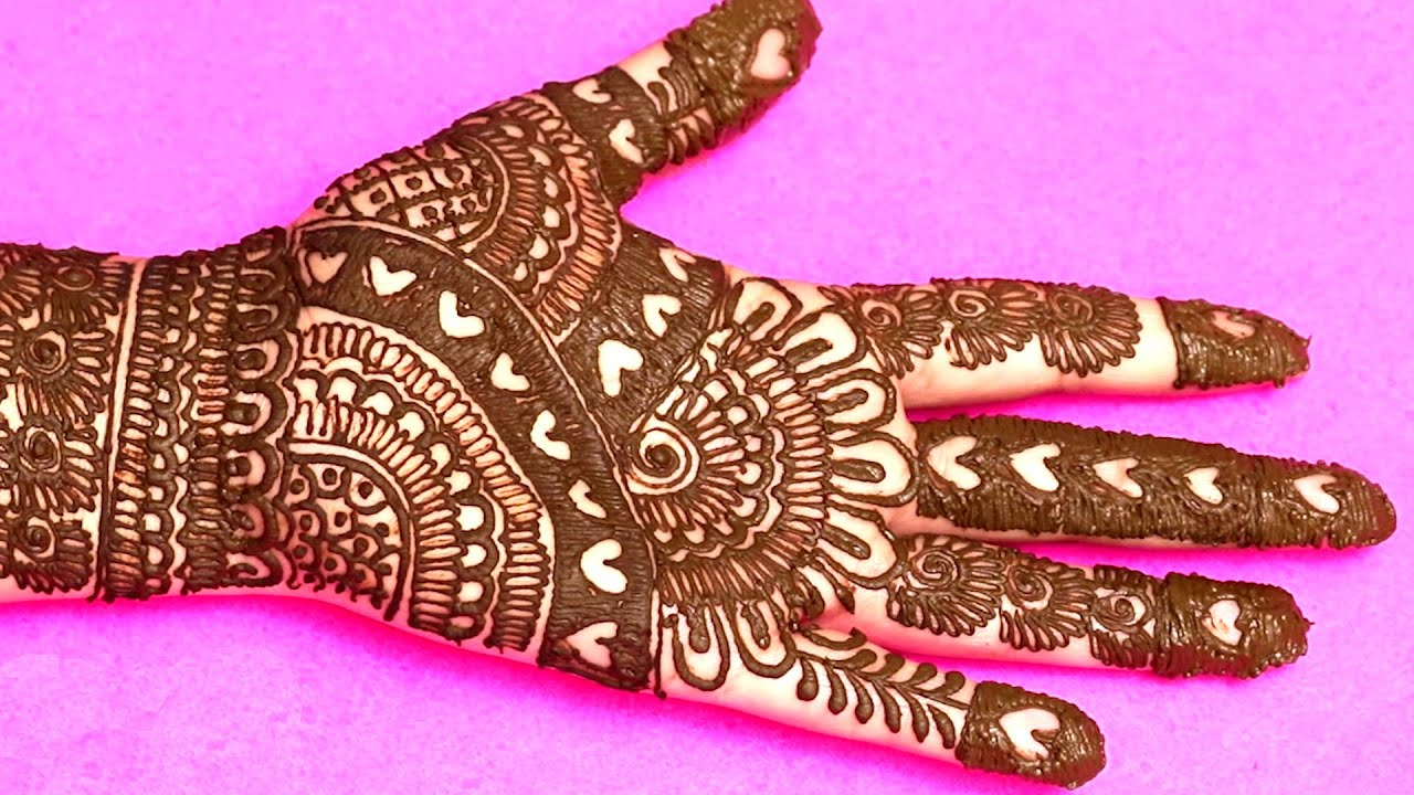 New Mehandi ka Design for wedding/party | New Simple Mehandi ke designs 2020 | She Fashions