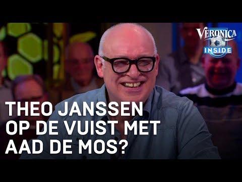 Theo Janssen op de vuist met Aad de Mos? | VERONICA INSIDE