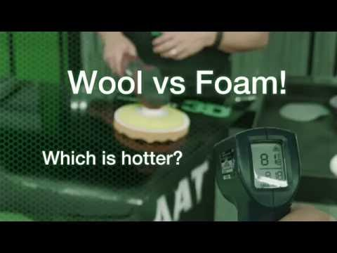 Wool vs Foam - Which is hotter?