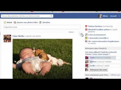 Gérer les publications d'amis sur Facebook