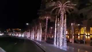 Dubai (near Burj Khalifa) by night