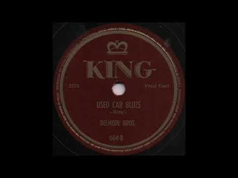 USED CAR BLUES / DELMORE BROS. [KING 664-B]