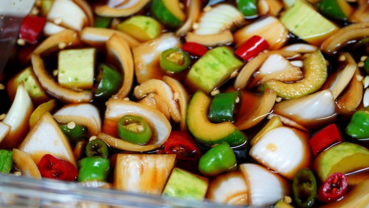 [오이양파장아찌] 황금비율로 간단하게 만들어 여름까지 쟁여두고 먹어도 변하지않는 맛!