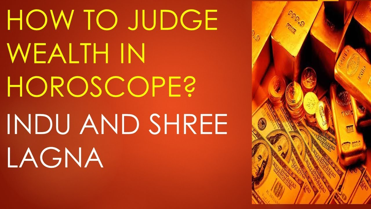 How to Judge wealth in any chart Indu lagna