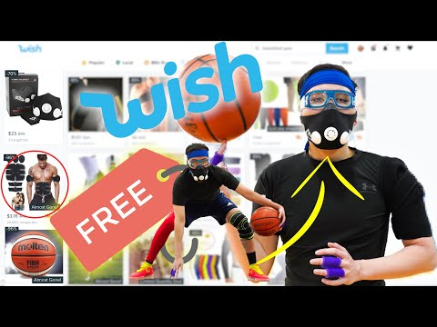 Testing FREE Basketball Gear From WISH Pt 3! (Banned NBA Gear!)