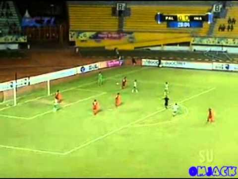 All Gol Indonesia vs Palestina 1-2 U23 Highlight ISG - 25 September 2013