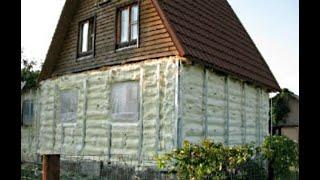 як зробити сайдинг на дерев'яному будинку самому
