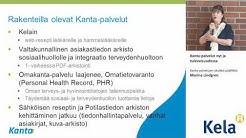 Kanta-palvelut nyt ja tulevaisuudessa, Marina Lindgren