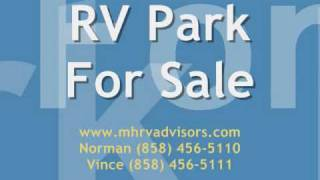 RV Park For Sale San Luis Obispo County California MHRV Advisors