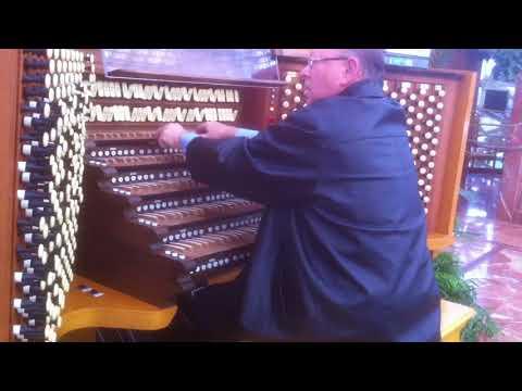Crystal Cathedral Organ Demo - Tom Leonard