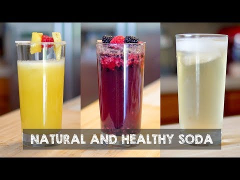 How To Make Healthy Soda