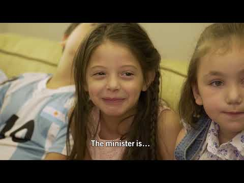 Israel's president present: kids never lie - the advertising convention