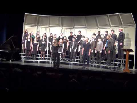 "Blair Academy Singers ""Lonesome Road"""