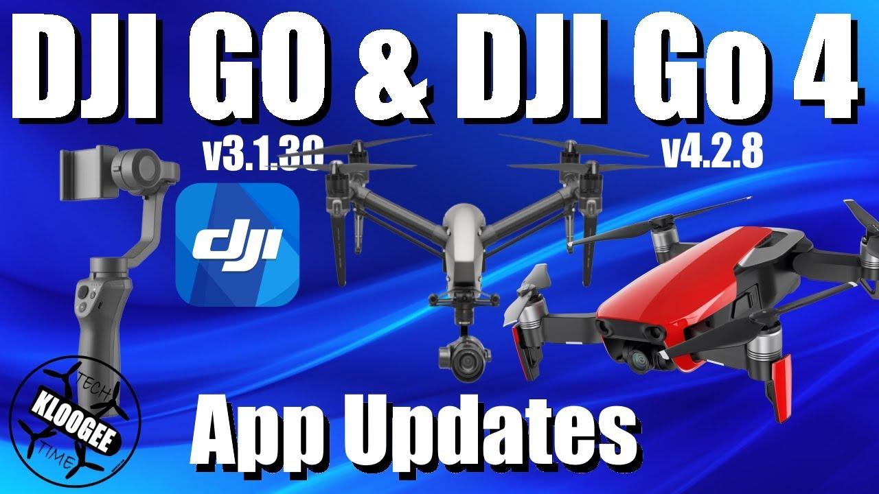 DJI Go 4 2 8 & DJI Go 3 1 30 - Mavic Air / Inspire 2 / Osmo Mobile 2