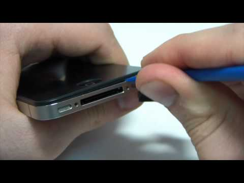 Видео 7. Замена экрана на IPhone 4S