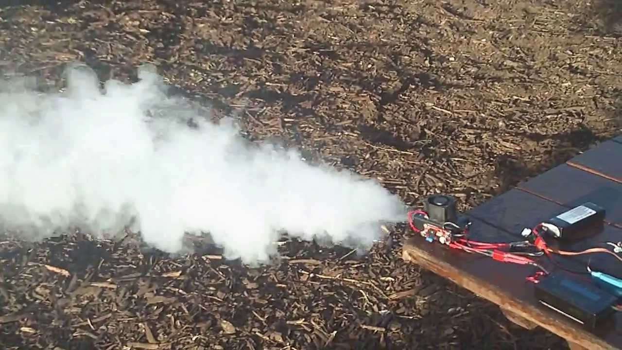 Mrrcsound Electric Rc Aiplane Smoke System Prototype 4