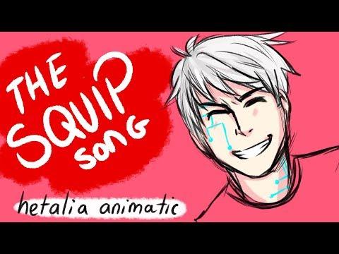 The Squip Song- Hetalia Animatic