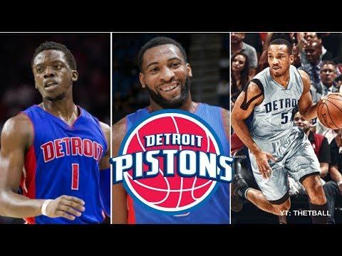 Previewing the Detroit Pistons 2017-18 NBA Season // Predictions! - Reggie Jackson Comeback!?