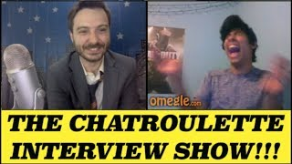 Caught Masturbating by his Grandma (Chatroulette interview show 53)