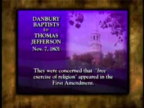 4.1a - Separation of Church and State Origins &1st Amendment American Heritage David Barton