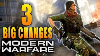 Modern Warfare: 3 Big Changes in The New Years Update