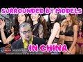 SURROUNDED by MODELS IN CHINA! Sz Fashion week KodaK Crunkite Investigates.