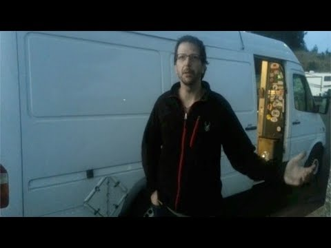 Living in a STEALTH Sprinter Cargo Van Full-time!