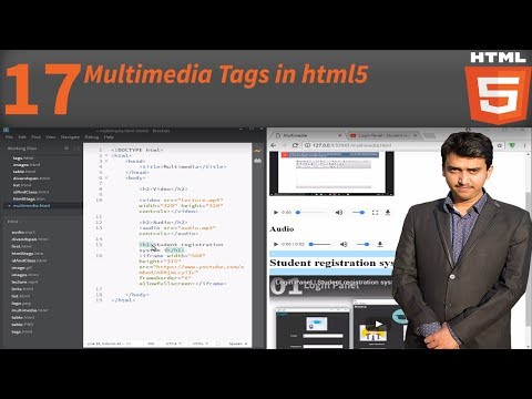 Multimedia Tags in html5