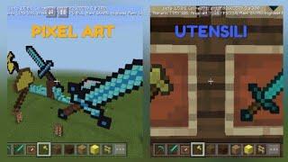 MATTIX VS AGT - PIXEL ART BATTLE - MINECRAFT ITA