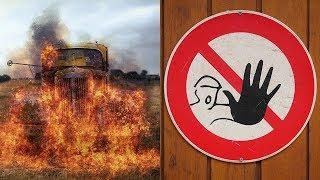 불붙는 차량에서 아들 구한 아버지가 처벌받은 이유는?