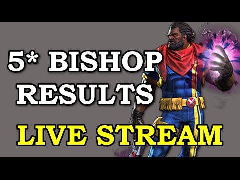 Waiting for 5* Bishop Arena Results | Marvel Contest of Champions Live Stream