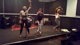 Klymaxx feat Bernadette Cooper, Quarantine Concert Series #2  (Behind the scenes)