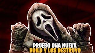 DEAD BY DAYLIGHT | NUEVA BUILD DESTRUCTIVA PARA GHOSTFACE,DEMASIADO DIVERTIDA Y POTENTE!