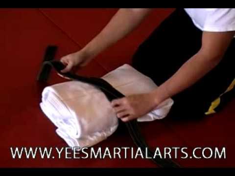 Classic Judo Gi Fold