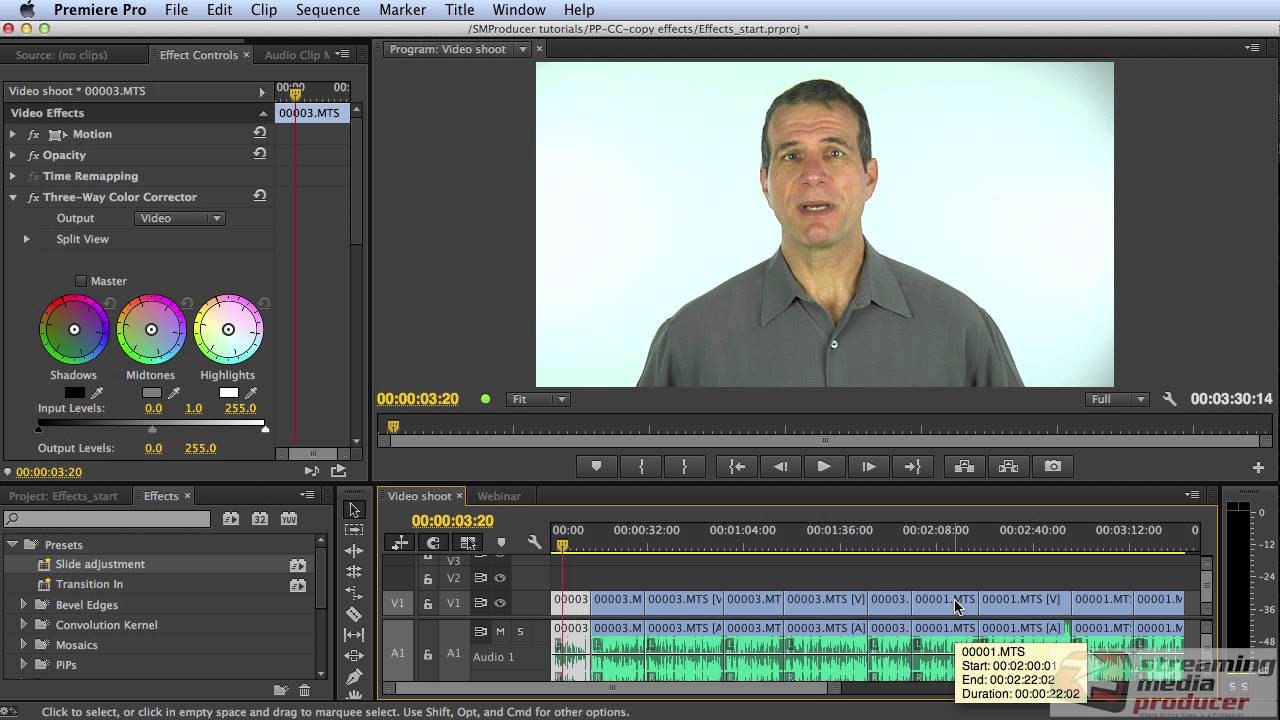 Adobe premiere video effects