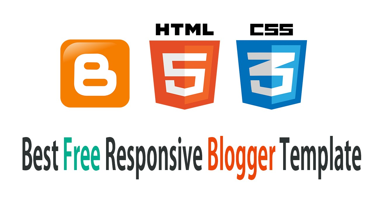 Best free Responsive blogger templates for 2016 - YouTube