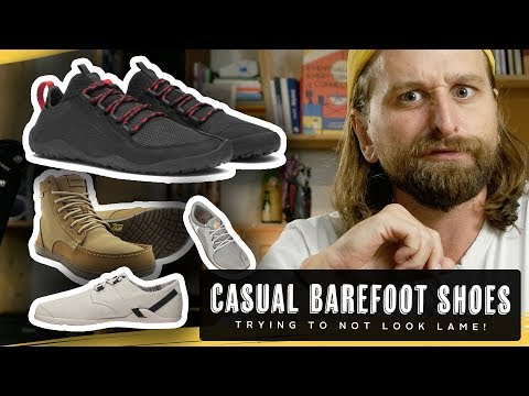8 CASUAL BAREFOOT SHOES (that don't look silly!)
