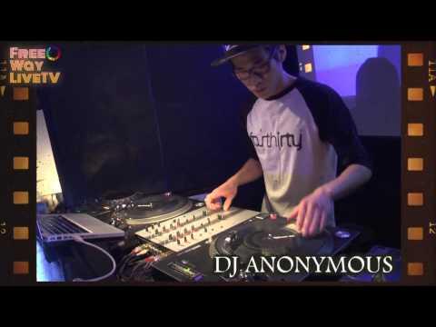 FreeWayTV特番 極月HIPHOPの宴 DJ ANONYMOUS