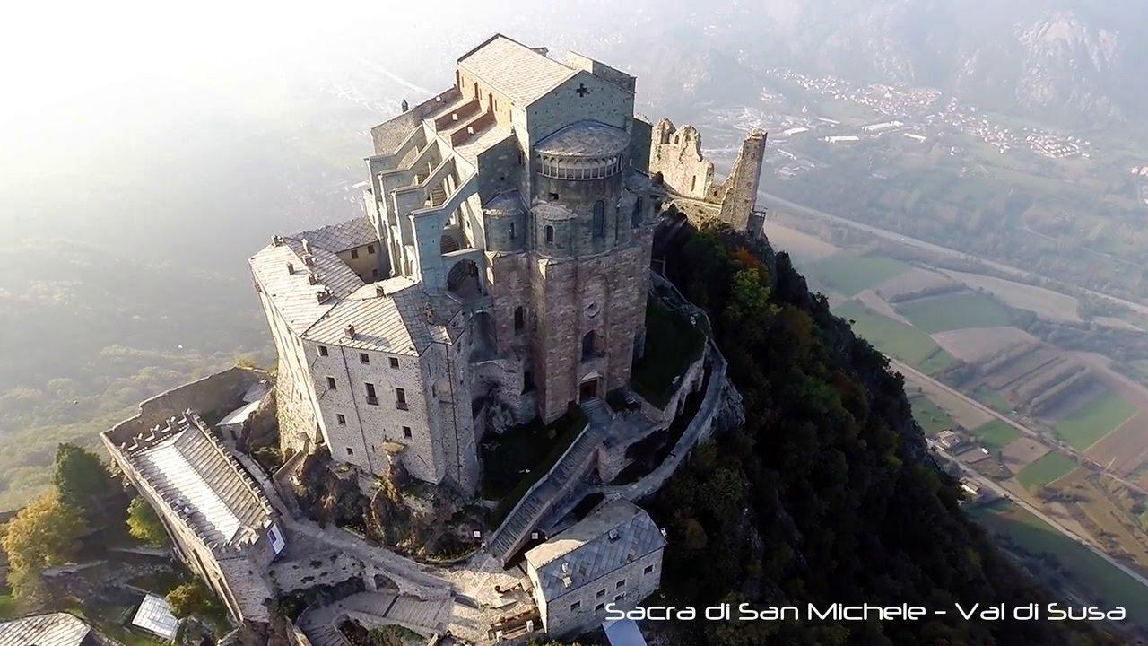 Sacra di San Michele - Valle di Susa - ITALY - 4K - YouTube