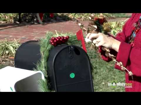 christmas decorating a mailbox youtube - Christmas Mailbox Decorations Ideas